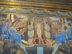 Art Nouveau painting in Academy